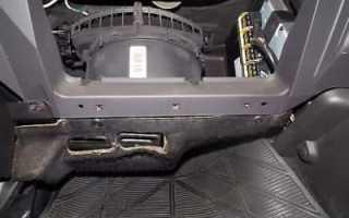 Ремонт вентилятора печки Форд Фокус 2: объясняем обстоятельно