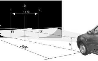Как отрегулировать фары на рено логан видео