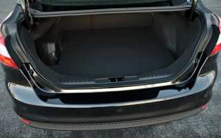 Объем багажника шевроле круз седан