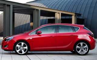 Объем багажника Opel Astra h: излагаем главное