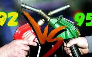 Киа рио какой бензин 95 или 92: освещаем вопрос