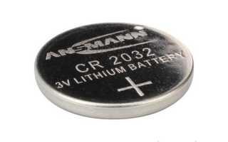 Замена батарейки в выкидном ключе Форд Фокус 2
