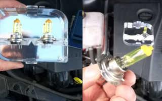 Замена лампочки ближнего света Форд Фокус 2 дорестайл: рассматриваем по порядку