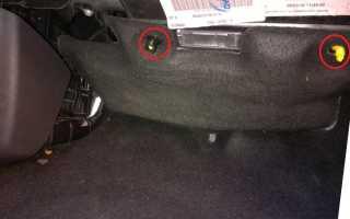 Замена фильтра салона Форд Фокус 3 видео: читайте во всех подробностях