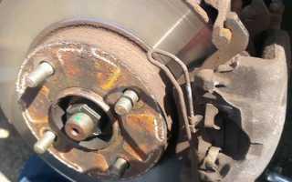 Замена задних тормозных колодок на Форд Фокус 3 своими руками видео — делимся опытом