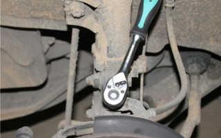 Замена передних тормозных колодок Киа Спортейдж 3 — описываем во всех подробностях
