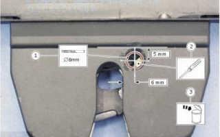 Как открыть багажник Форд Фокус 2 седан из салона — объясняем суть