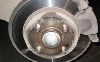 Замена колодок передних Форд Фокус 3: описываем развернуто