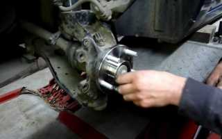 Форд фокус 2 замена переднего ступичного подшипника (видео)