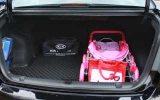 Киа рио 3 объем багажника: разбираем по порядку
