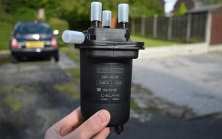 Фильтр топливный на рено дастер (видео)