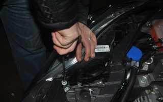 Замена лампочки стоп сигнала на Форд Фокус 3 седан: разбираем по порядку