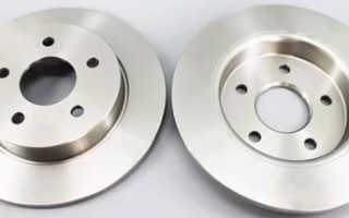 Какие тормозные диски лучше на Форд Фокус 3 — рассмотрим основательно