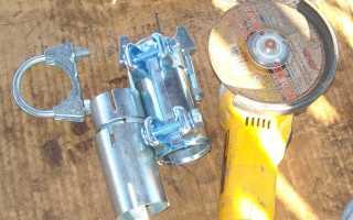 Рено Логан замена катализатора на пламегаситель