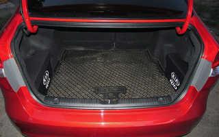 Размеры багажника Киа Рио хэтчбек — описываем подробно