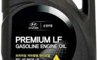 Какое моторное масло заливать в хендай солярис