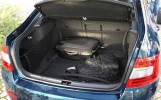 Шкода Октавия лифтбек объем багажника — разбираем во всех подробностях