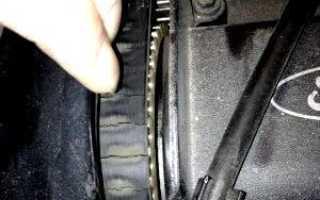Замена ремня грм Форд Фокус 3 через какой пробег — теория и практика