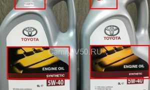 Тойота камри замена масляного фильтра — выкладываем по пунктам