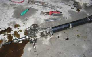 Замена рулевой рейки своими руками Форд Фокус 2 — расписываем все нюансы