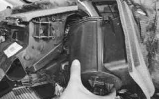 Форд Фокус 2 ремонт печки: изучаем основательно