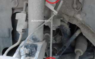 Форд фокус 2 замена стойки стабилизатора — вся суть