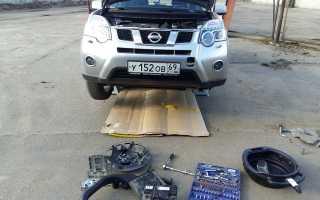 Nissan x trail t31 замена масла в вариаторе