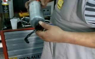Рено Дастер дизель замена топливного фильтра — наш взгляд на вопрос