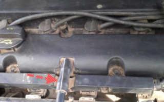 Замена прокладки клапанной крышки Форд Фокус 1